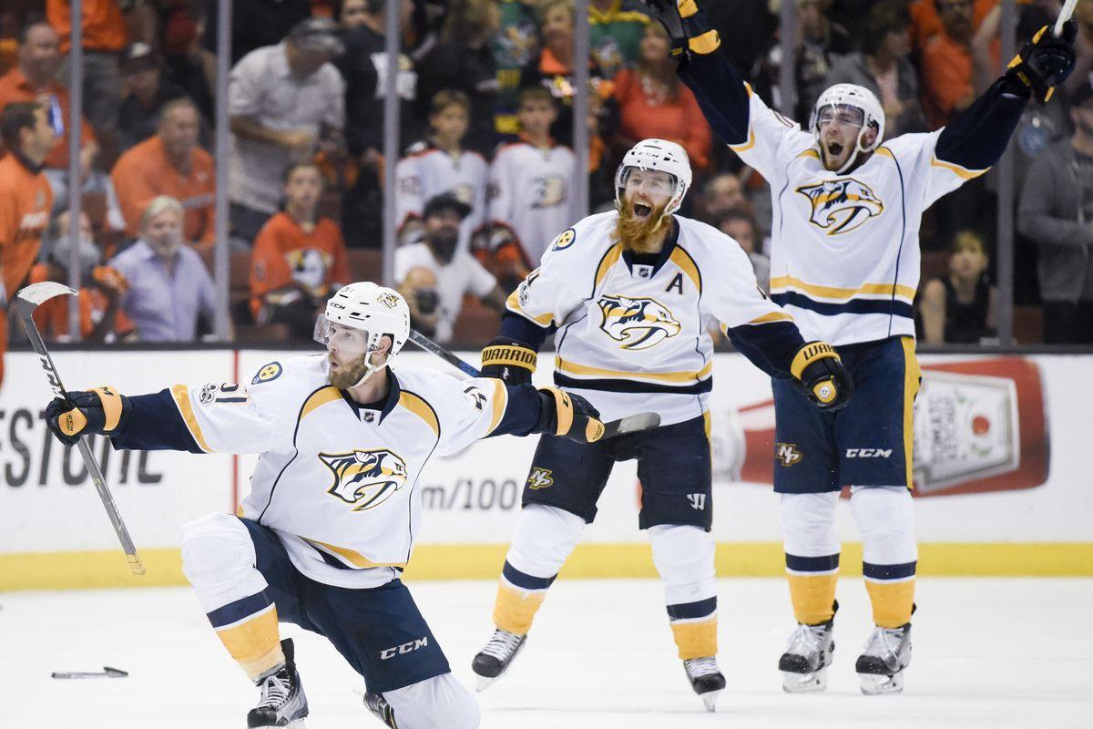 Nashville Predators prvič v finalu lige NHL